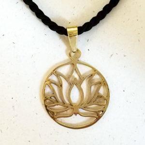 ciondolo fiore di loto
